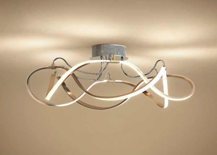 3d Long Strip Led Ceiling Light Fixtures Residential Gorgeous Decoration